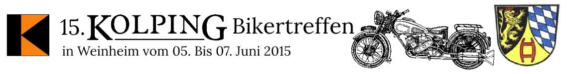 15. Kolping-Bikertreffen 2015 – in Weinheim