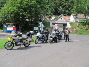 Die Tourguides testen die Strecken für die Samstagtouren